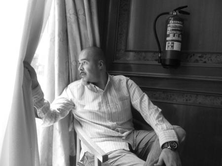 """Juan Carlos Márquez, """"Norteamérica profunda"""", Salto de página."""