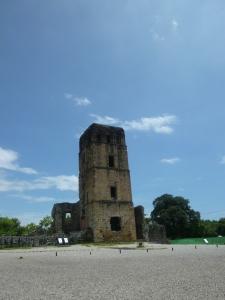 Ruinas en el Panamá viejo
